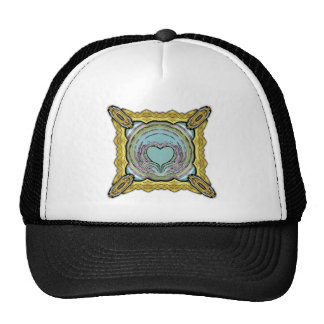 Heart Formation Inverted Mesh Hats