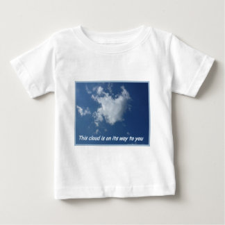Heart formed Cloud Baby T-Shirt
