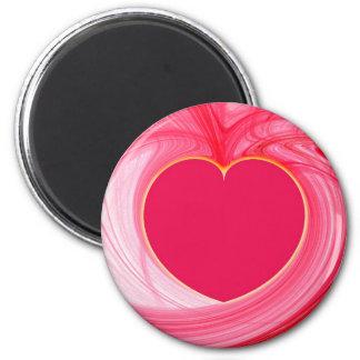 Heart Fractal Magnet