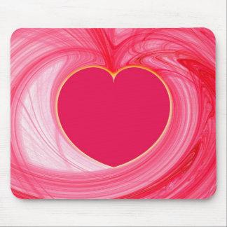 Heart Fractal Mousepad