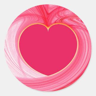 Heart Fractal Sticker