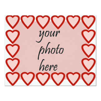 Heart frame for your picture card