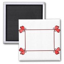 Heart Frame Magnet