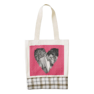 Heart Frame Zazzle HEART Tote Bag