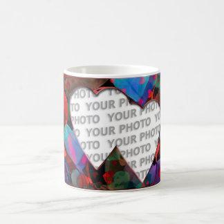 Heart Frames 4 + your photo Coffee Mug
