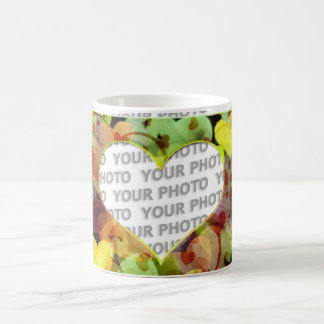 Heart Frames 5 + your photo Coffee Mug