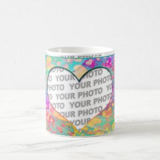 Heart Frames 6 + your photo Coffee Mug