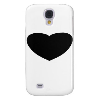 Heart Freeform 2 Black The MUSEUM Zazzle Gifts Samsung S4 Case