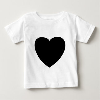 Heart Freeform 4 Black The MUSEUM Zazzle Gifts Infant T-shirt