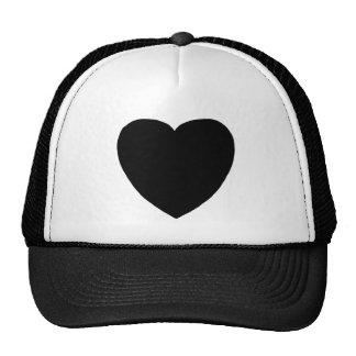 Heart Freeform 8 Black The MUSEUM Zazzle Gifts Trucker Hat