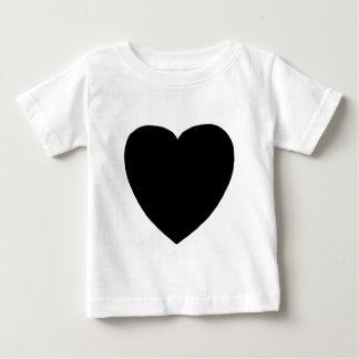 Heart Freeform 8 Black The MUSEUM Zazzle Gifts Tshirt