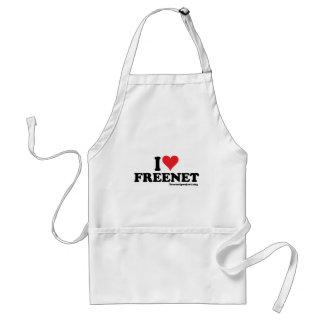 Heart Freenet Adult Apron