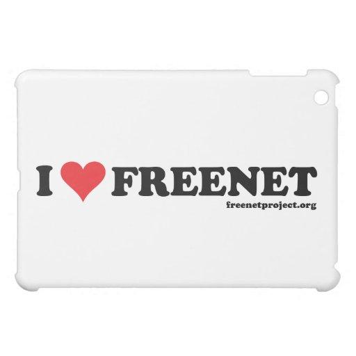 Heart Freenet - Long iPad Mini Covers