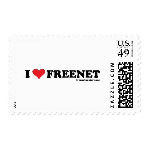 Heart Freenet - Long Stamp