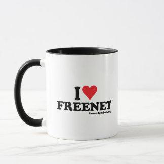 Heart Freenet Mug