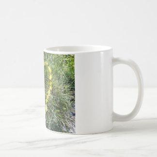 Heart from flowers coffee mug