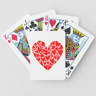Heart from Hearts Bicycle Playing Cards