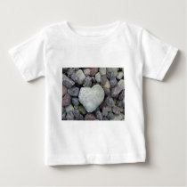 Heart from stone baby T-Shirt