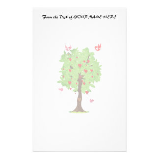 heart fruit tree with heart birds.png stationery