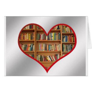 Heart Full of Books Greeting Card