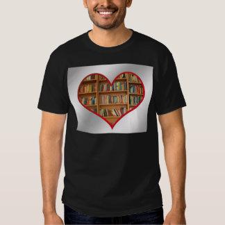 Heart Full of Books T Shirt