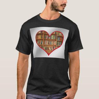 Heart Full of Books T-Shirt