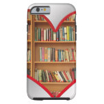 Heart Full of Books Tough iPhone 6 Case
