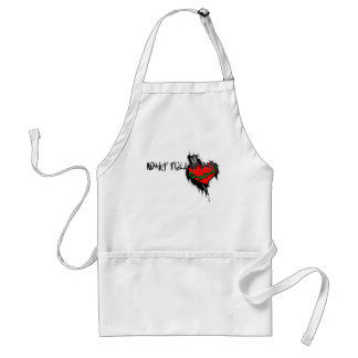 Heart Full Of Pain Adult Apron