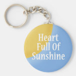 Heart Full of Sunshine Key Chain Key Chains