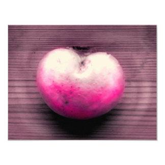 Heart fungus 4.25x5.5 paper invitation card