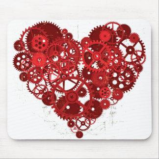Heart_Gears_01 Tapetes De Ratones