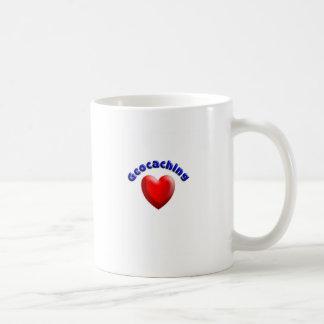 Heart geocaching mugs
