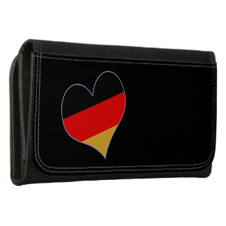 Heart - Germany colors Wallet