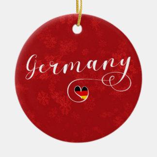 Heart Germany Holiday Decoration