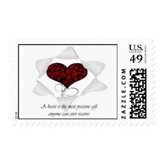 Heart Gift Postage