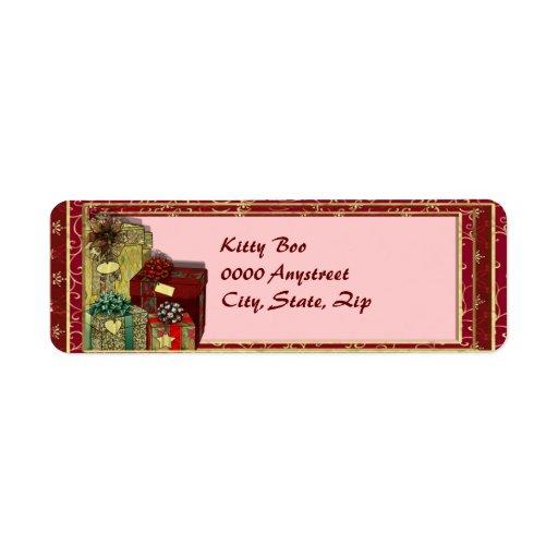 Heart Gifts Return Address Label