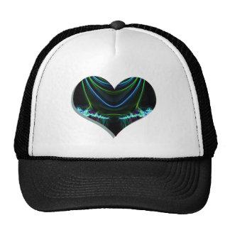 heart glow 1 trucker hat