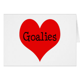 Heart Goalies Card