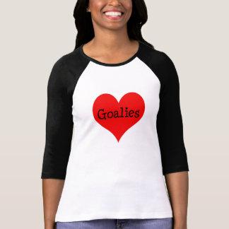 Heart Goalies Tee Shirt