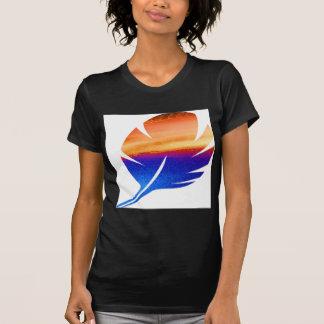 HEART GRADUATE LEAF FEATHER T-Shirt