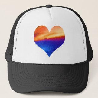 HEART GRADUATE LEAF FEATHER TRUCKER HAT