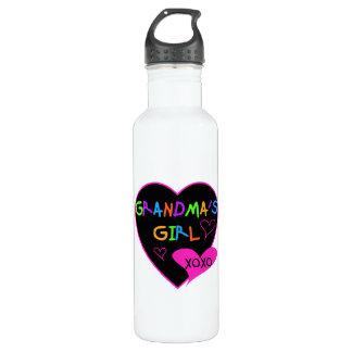 Heart Grandma's Girl T-shirts and Water Bottle