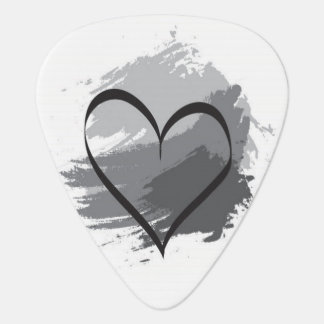 Heart Guitar Pick