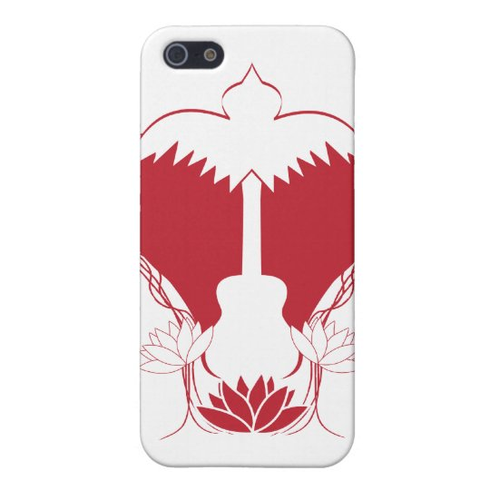Heart Guitar Spirit iPhone SE/5/5s Case