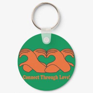 Heart Hand-HeartMark Chain! keychain