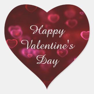 Heart Happy Valentineu0026#39;s Day Sticker