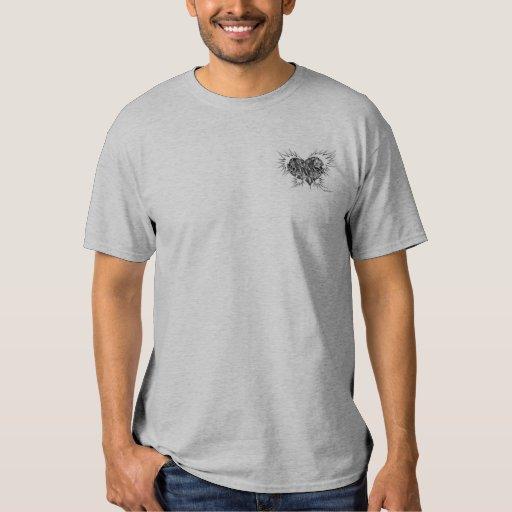 Heart has wings II men's tee shirt