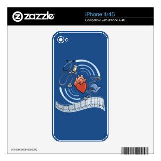 Heart Health iPhone 4 Skin