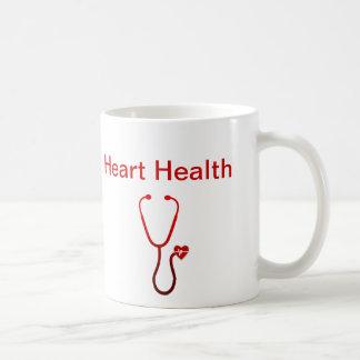 Heart Health Medical Theme Coffee Mugs