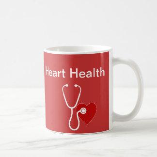 Heart Health Theme Coffee Mugs